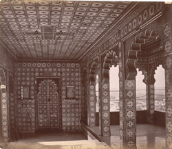 Interior of the Badi Chatur, City Palace, Udaipur
